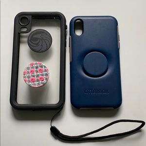 Set of 2 iPhone XR cases- otter box